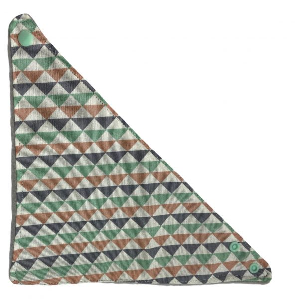 Bandana triangulos quitababas bebé 12