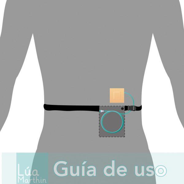Bolsa catéter peritoneal