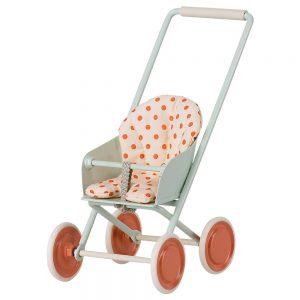 carrito bebé maileg
