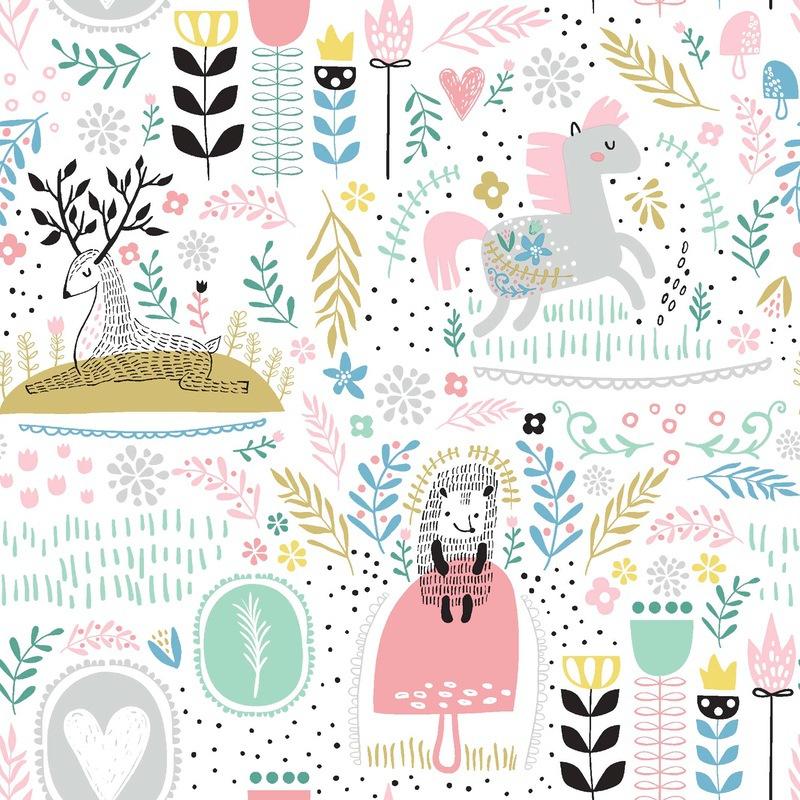 jardín y fantasía