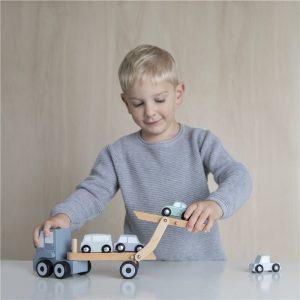 Camión de juguete transporte de coches 7