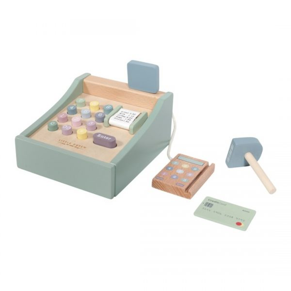 caja registadora de madera little dutch