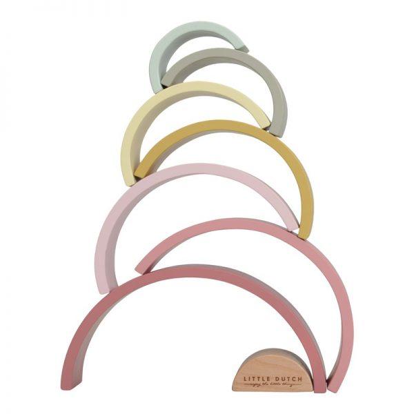 apilador arcoiris color rosa 2