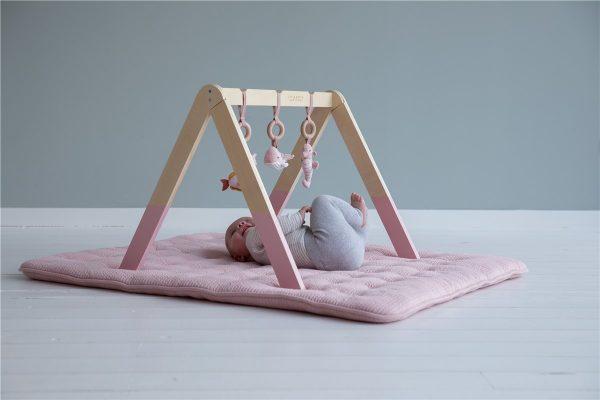 gimnasio para bebe rosa 2