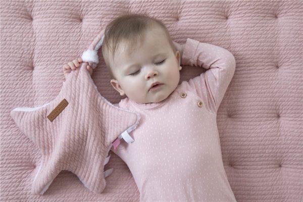 manta de juegos para bebe rosa 1