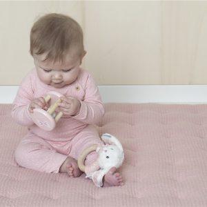 manta de juegos para bebe rosa