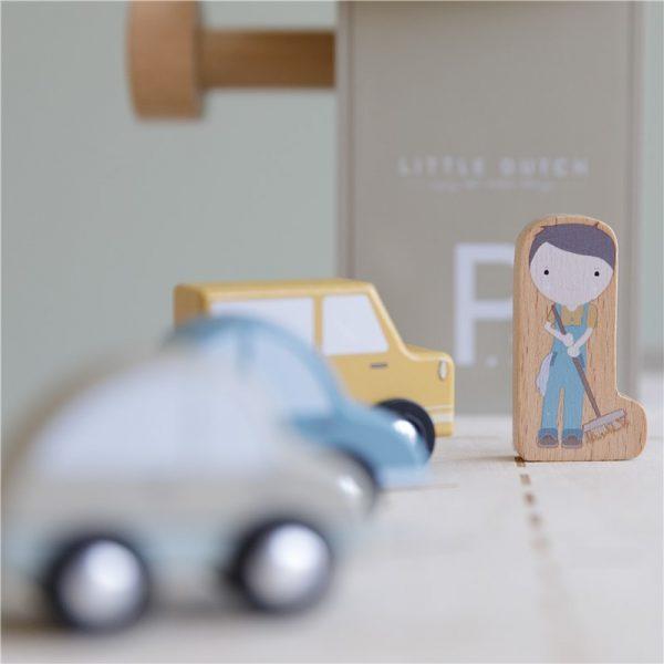 parking de madera little dutch 5