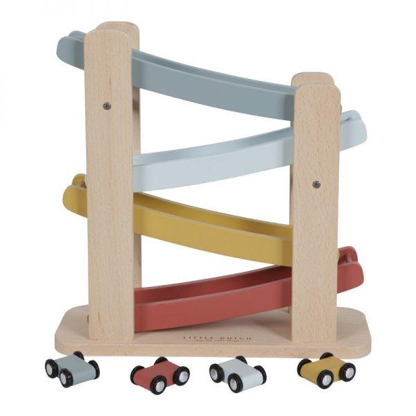 pista de carreras de madera 4