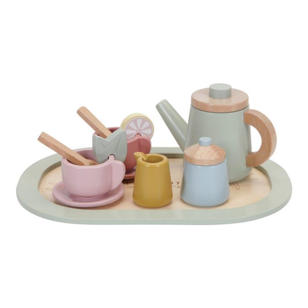 set de te de madera little dutch