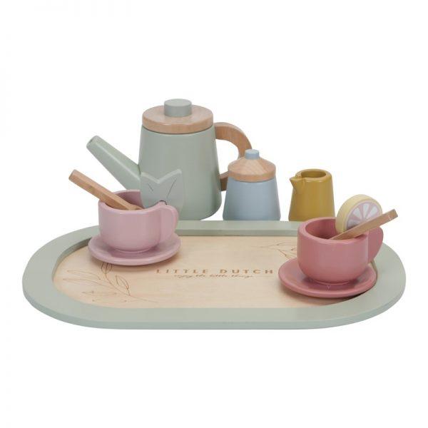 set de te de madera little dutch 2