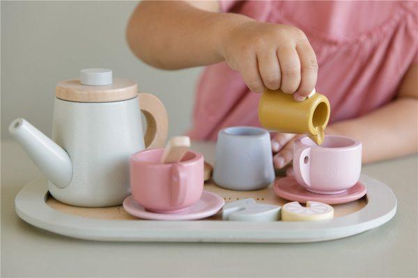 set de te de madera little dutch 3