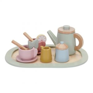 set de te de madera little dutch