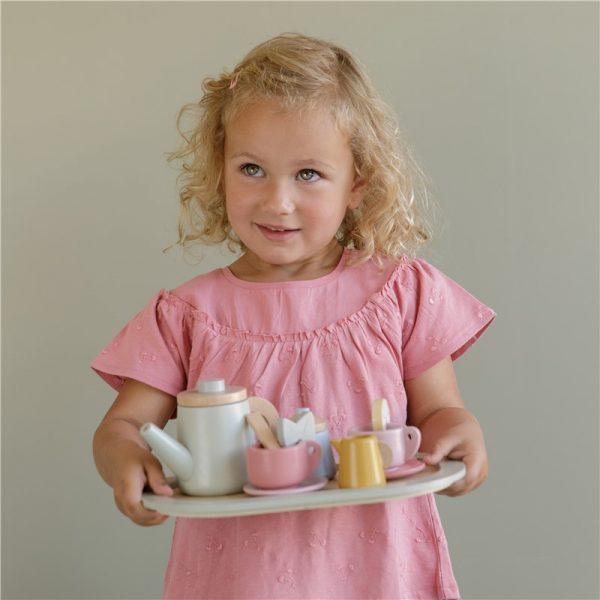 set de te de madera little dutch 4