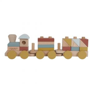 tren de madera little dutch pure