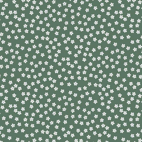 verde campo de flores