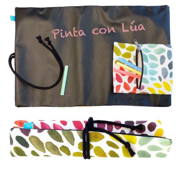 Pizarra enrollable colores de brasil 2