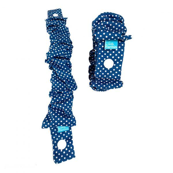 elastico de lactancia azul