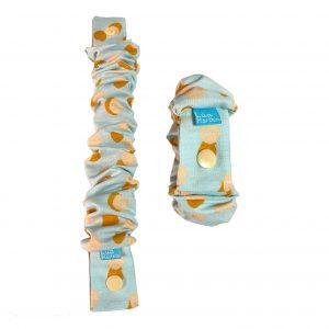 elastico de lactancia turquesa