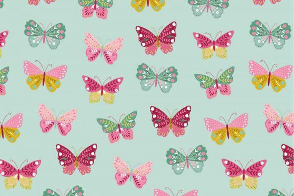 menta mariposas