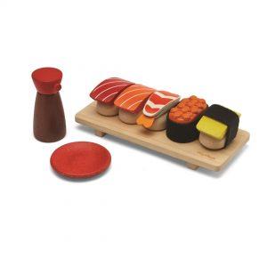 sushi de madera