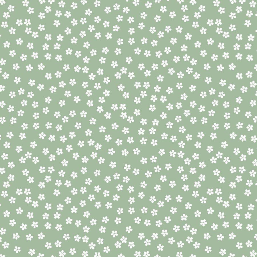 verde campo flores
