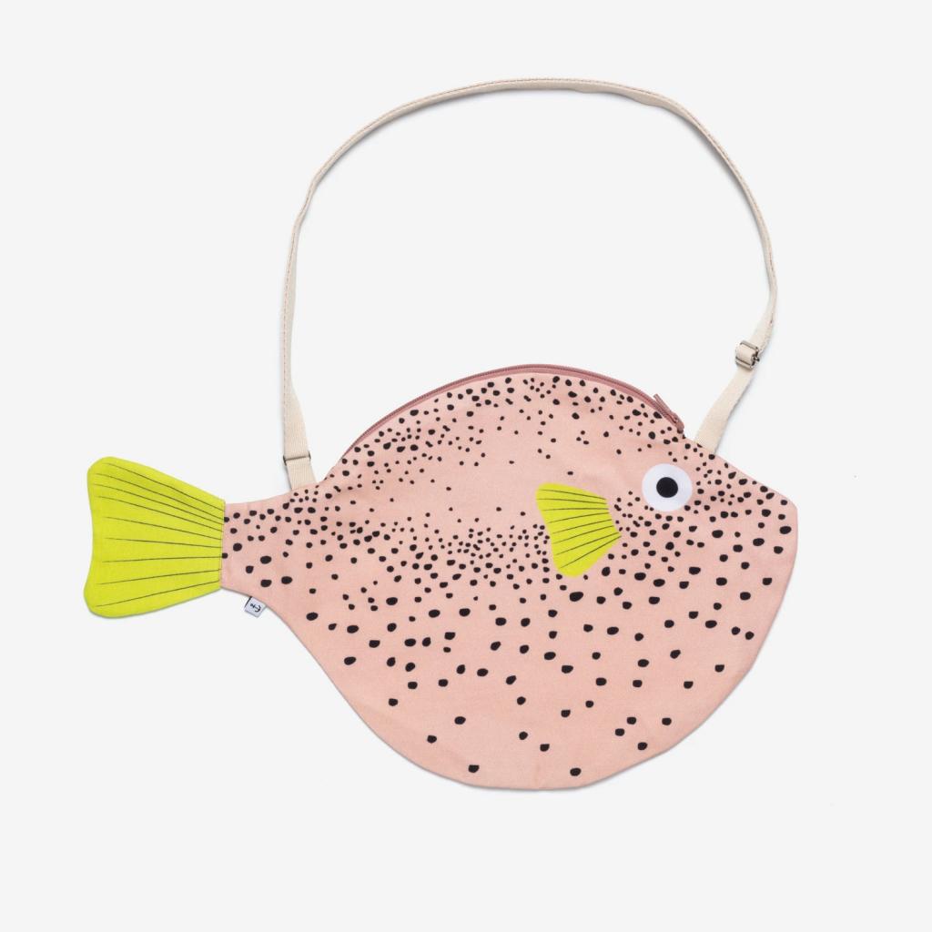 pez globo grande rosa