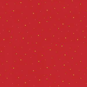 rojo navidad estrellitas