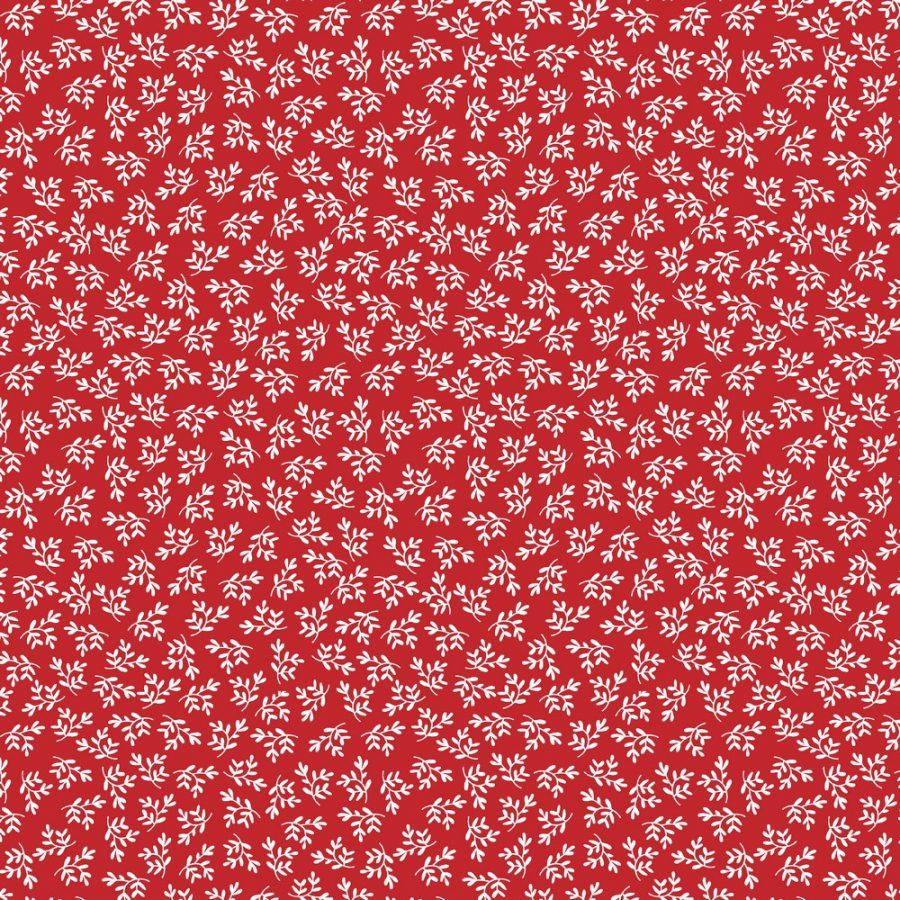 rojo navidad ramita